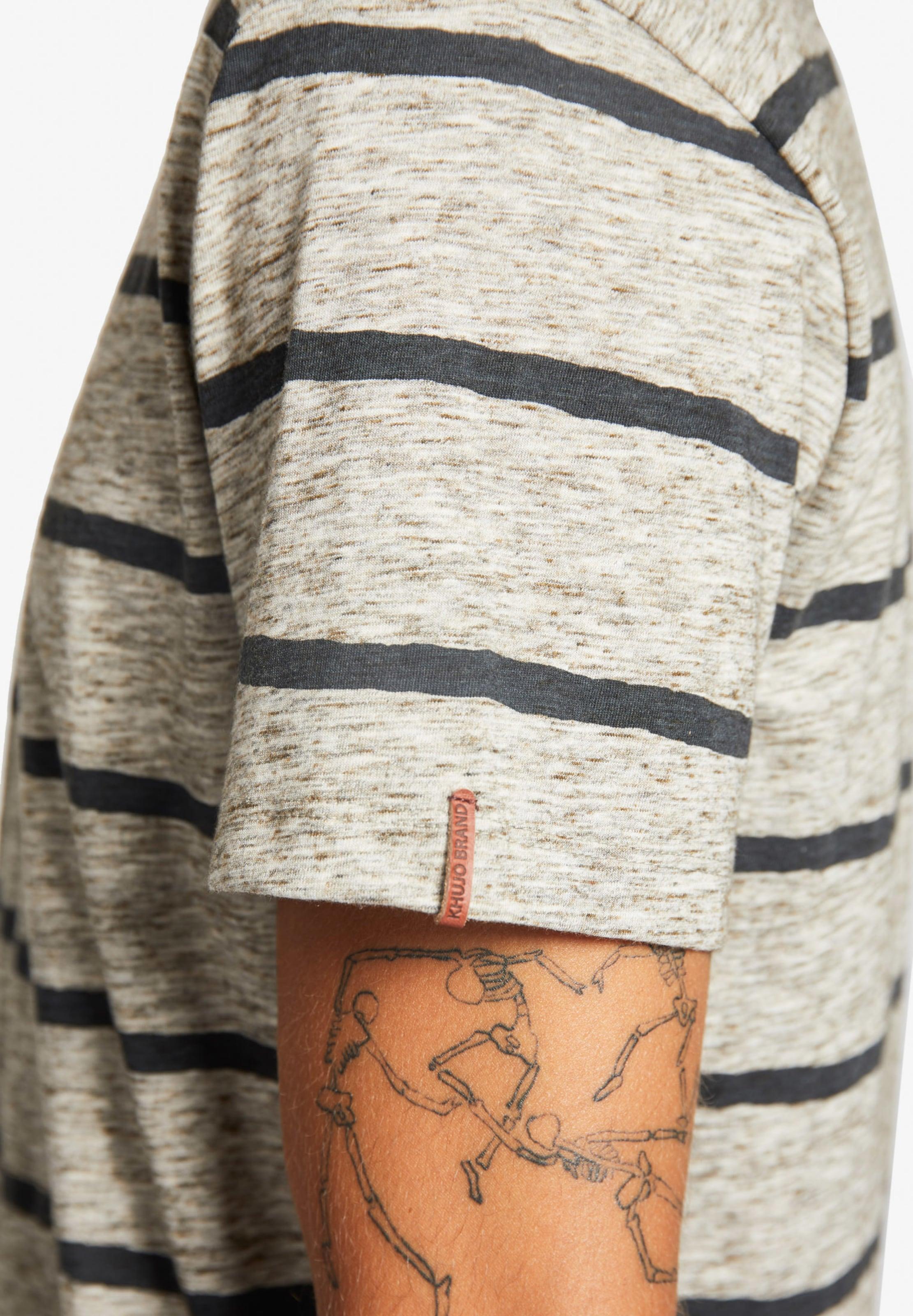 'tint' T In BeigemeliertSchwarz shirt Khujo QdtsrxhC