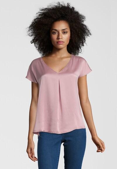 Frogbox Blusenshirt mit V-Ausschnitt in pink, Modelansicht
