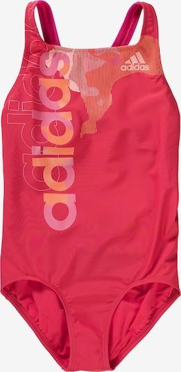 ADIDAS PERFORMANCE Badeanzug in pink / hellpink: Frontalansicht