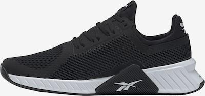 REEBOK Chaussure de sport en noir / blanc, Vue avec produit