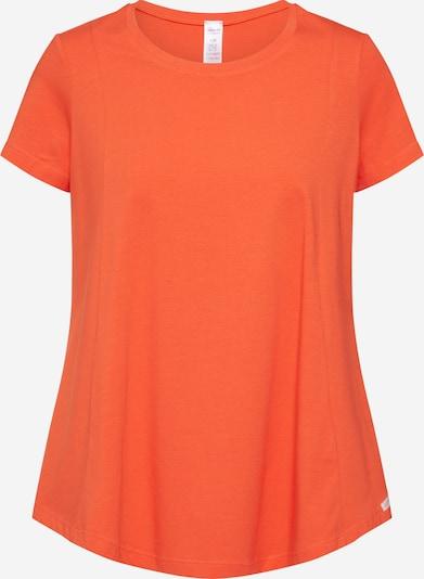 Skiny Schlafshirt 'Ritual Sleep Pyjama kz.' in orangerot, Produktansicht