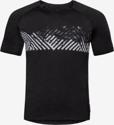 ODLO T-Shirt in schwarz / weiß, Produktansicht
