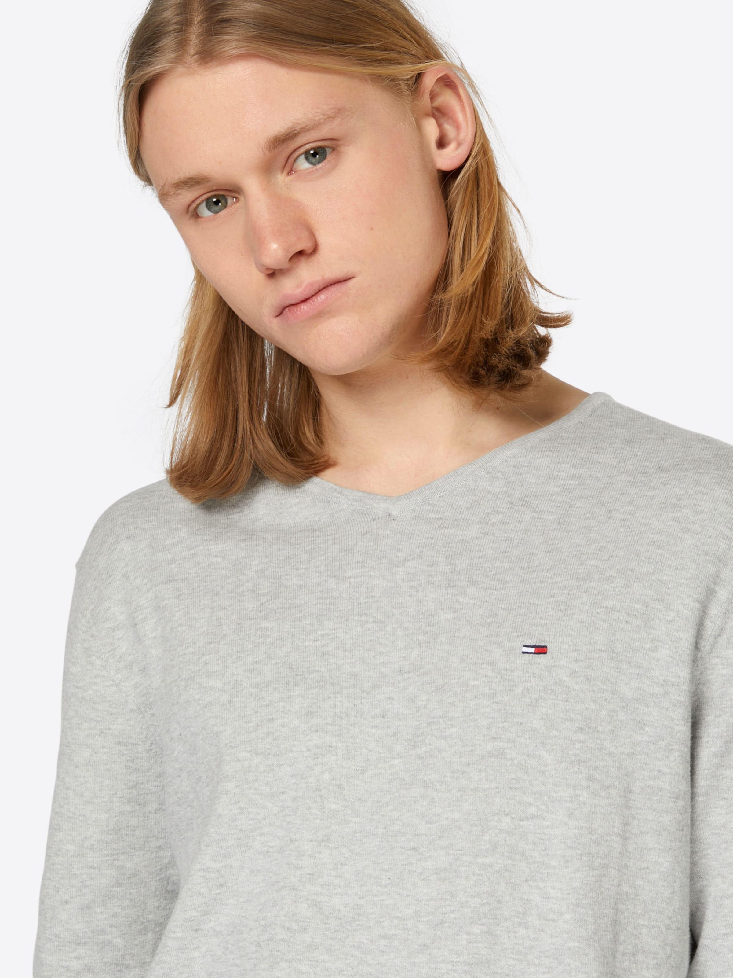 2018 Neueste Rabatt Manchester Großer Verkauf Tommy Jeans Pullover 'JM' Heißen Verkauf Online-Verkauf Besuchen Sie Günstig Online Spielraum Großhandelspreis RzhGgEnqLV