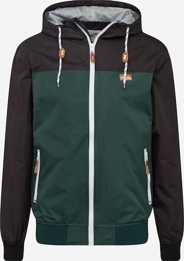 Iriedaily Jacke 'Auf Deck' in dunkelgrün / schwarz, Produktansicht