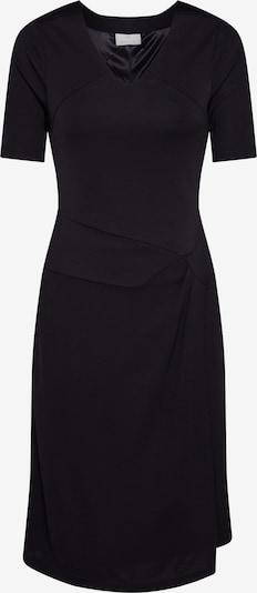 Kaffe Kleid 'KAsigne' in schwarz: Frontalansicht