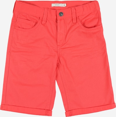 NAME IT Shorts in rot: Frontalansicht