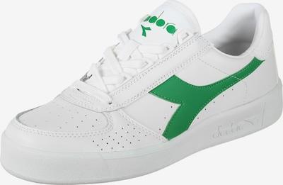 Diadora Sportschoen 'B. Elite' in de kleur Groen / Wit, Productweergave