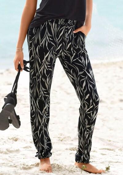 BUFFALO Harembroek in de kleur Zwart, Modelweergave