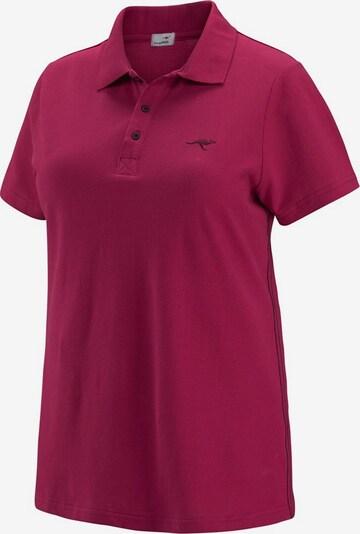 KangaROOS Poloshirt in fuchsia, Produktansicht