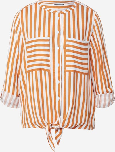 STREET ONE Chemisier en orange / blanc, Vue avec produit