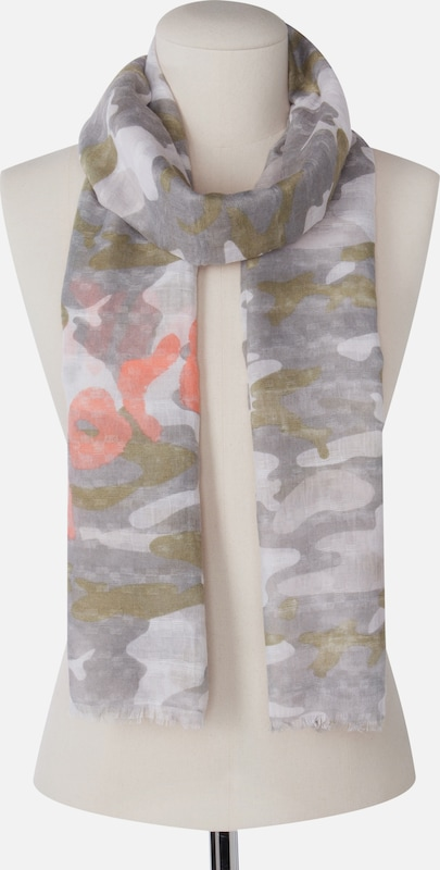 CODELLO Schal mit Camouflage-Muster