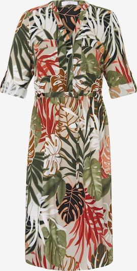 Emilia Lay Kleid 3/4-Arm in grün / mischfarben, Produktansicht