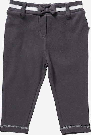 JACKY Leggings 'Classic' in dunkelgrau / weiß: Frontalansicht