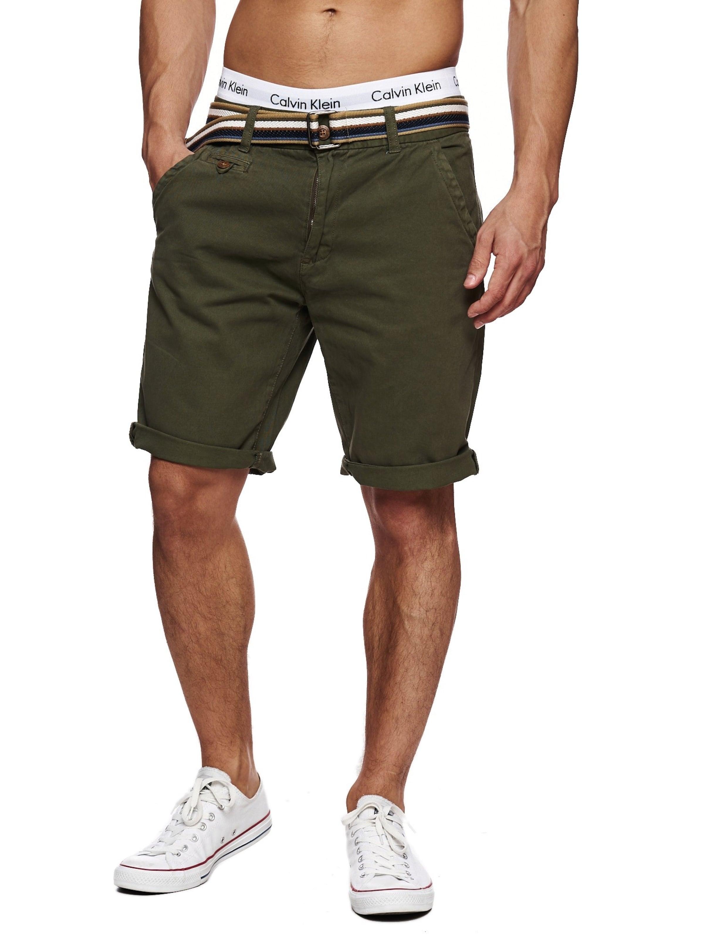'cuba' Chino Pantalon En Jeans Indicode Kaki v0mNn8w