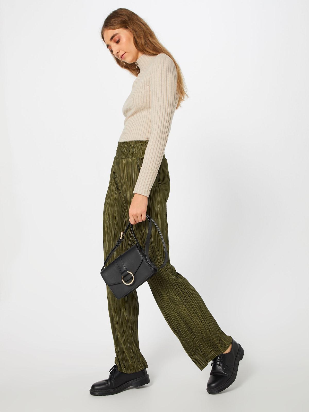 Beliebt Frauen Bekleidung Another Label Hose 'Dunham' in grün Zum Verkauf