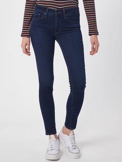 LEVI'S Jeans '711™' in blue denim, Modelansicht