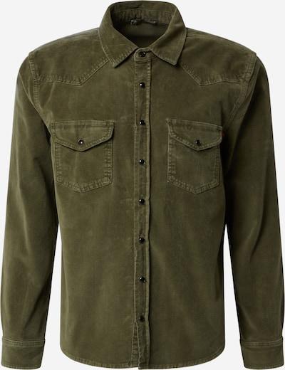LTB Overhemd 'ROHAN' in de kleur Olijfgroen, Productweergave