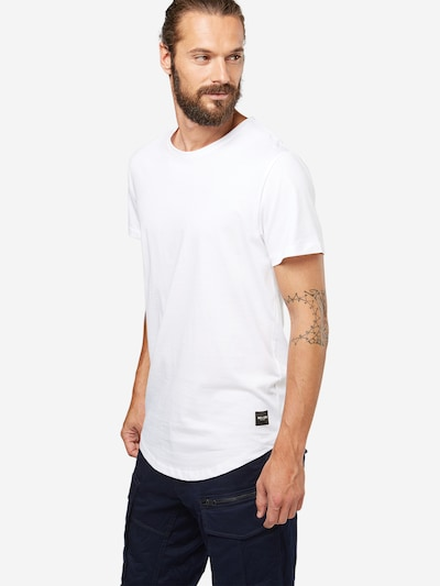 Only & Sons T-Shirt 'onsMATT LONGY TEE' in weiß: Frontalansicht
