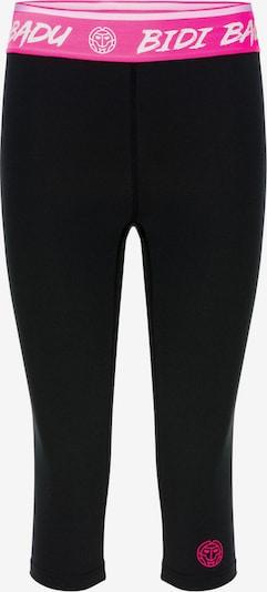 BIDI BADU Leggings in pink / schwarz / weiß: Frontalansicht