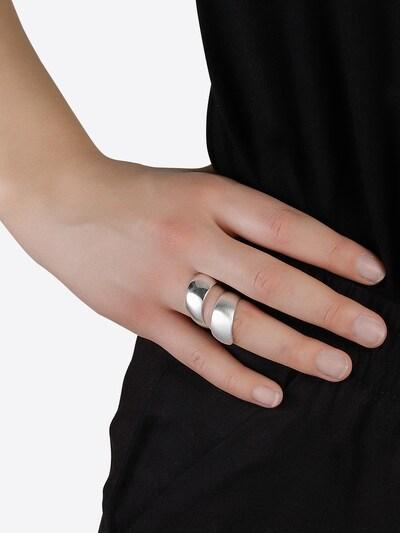 ezüst Pilgrim Gyűrűk 'Alma': Elölnézet