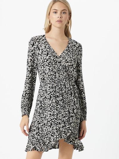 ABOUT YOU Kleid 'Elif Dress' in schwarz / weiß, Modelansicht