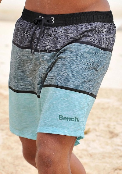 BENCH Badeshorts in blau, Produktansicht