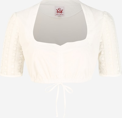 SPIETH & WENSKY Dirndlbluse 'Haspel' in weiß, Produktansicht