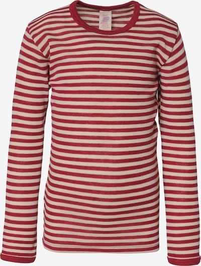 ENGEL Unterhemd in rot / weiß, Produktansicht