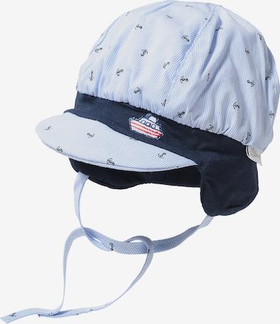 Megzta kepurė iš STERNTALER , spalva - nakties mėlyna / azuro, Prekių apžvalga