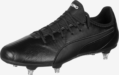 PUMA Voetbalschoen 'King Pro SG' in de kleur Zwart / Wit, Productweergave