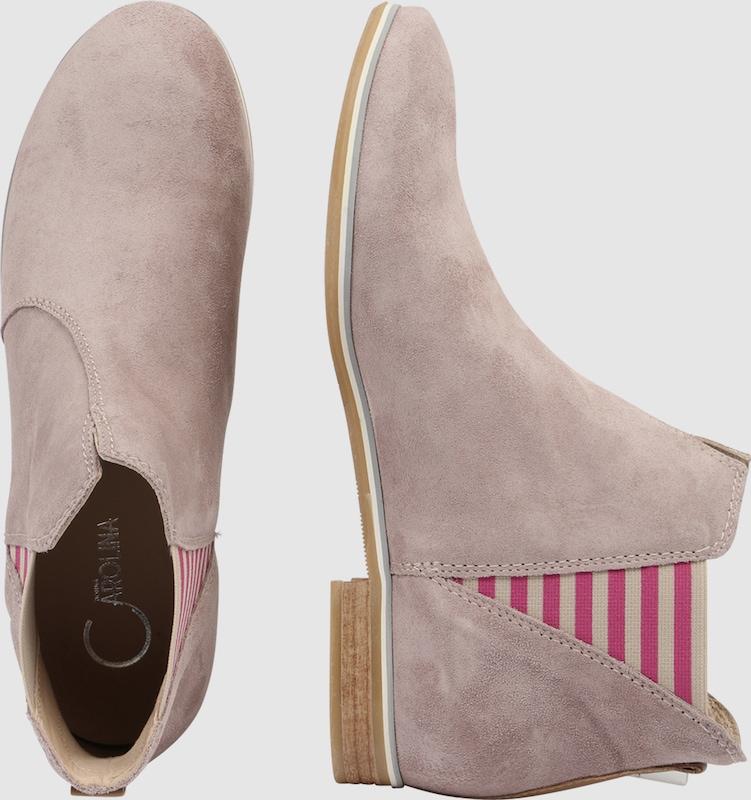 Donna Carolina Schuhe Stiefelette Stripes Verschleißfeste billige Schuhe Carolina 6acaf8