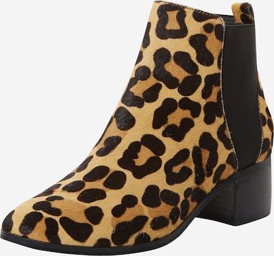 Dune LONDON Chelsea škornji 'OZZI' | rjava / črna barva, Prikaz izdelka