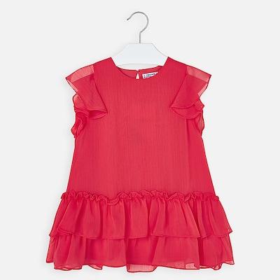 Mayoral Kleid in rot, Produktansicht