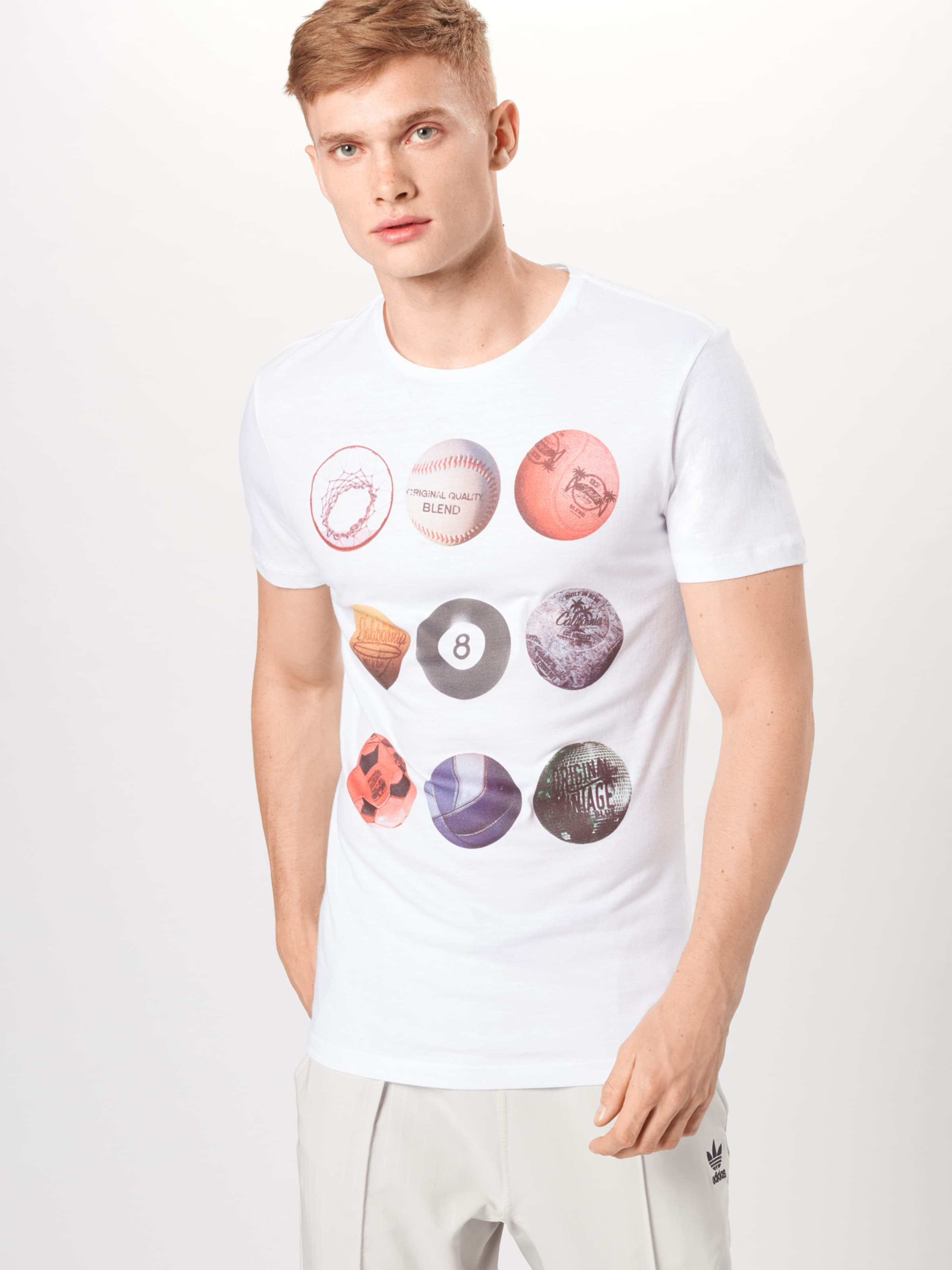 T Blend In MischfarbenWeiß T shirt In MischfarbenWeiß Blend shirt Blend 0wN8nm