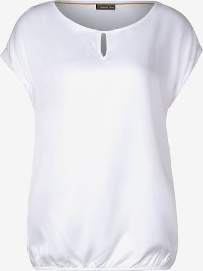 STREET ONE Lässige Bluse in weiß, Produktansicht