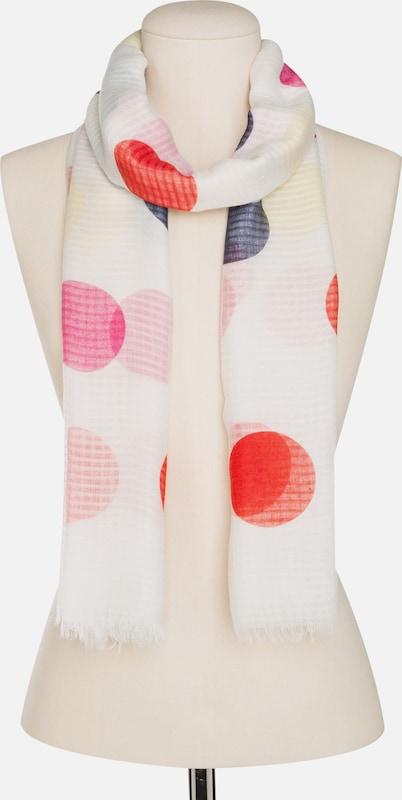 CODELLO Schal mit Punkten und Struktur