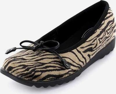 ROMIKA Huisschoenen in de kleur Beige / Zwart, Productweergave