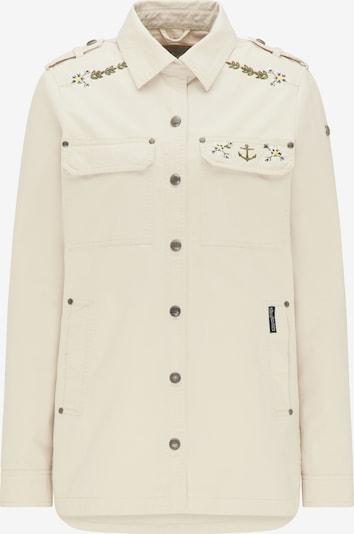 DREIMASTER Jacke in beige / mischfarben, Produktansicht