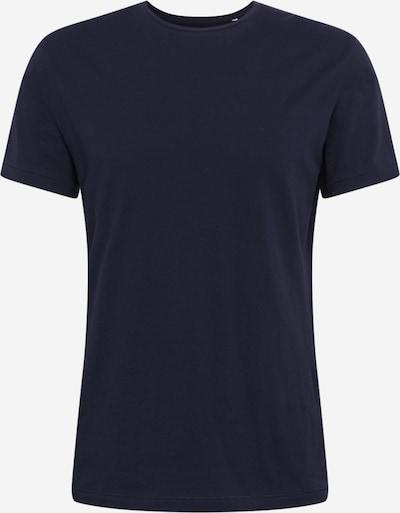 KnowledgeCotton Apparel T-Shirt en bleu foncé, Vue avec produit