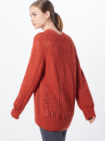 Pepe Jeans Pullover  'marzella' in rot: Rückansicht