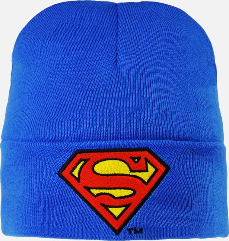 LOGOSHIRT Strickmütze 'Superman �?Logo'