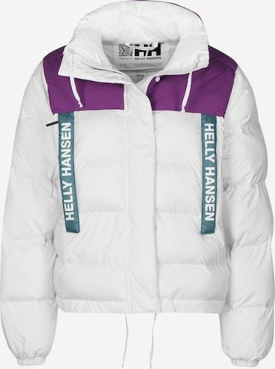 HELLY HANSEN Winterjacke 'P&C Puffer W' in dunkellila / weiß, Produktansicht
