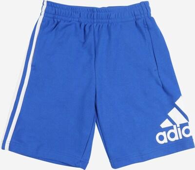 ADIDAS PERFORMANCE Sporthose in blau / weiß, Produktansicht
