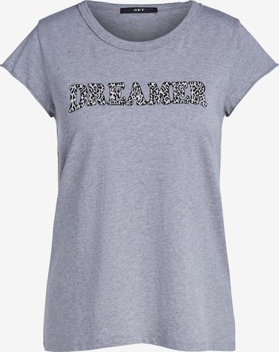 SET Shirt in grau, Produktansicht