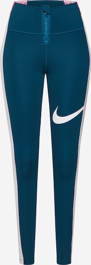 NIKE Sportbroek 'Power' in de kleur Donkerblauw / Rosa / Wit, Productweergave