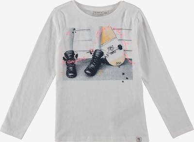 GARCIA Shirt in goldgelb / pink / schwarz / offwhite, Produktansicht