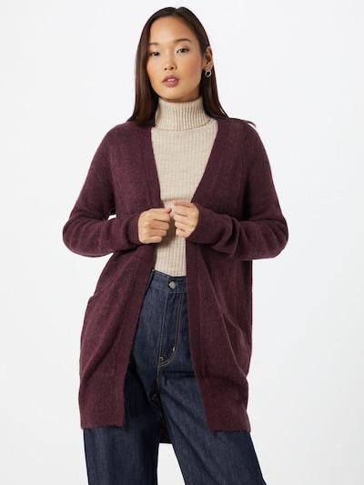 ICHI Cardigan 'Amara' in lila, Modelansicht