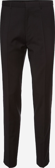 HUGO Trousers with creases 'HartleyS' in black, Item view
