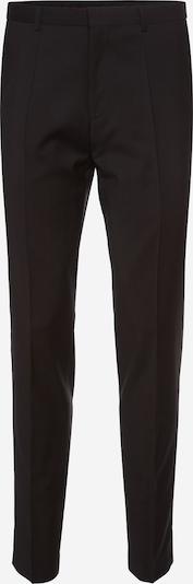HUGO Pantalon à plis 'HartleyS' en noir, Vue avec produit