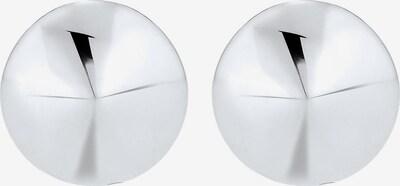 PAULO FANELLO Manschettenknopf 'Dreieck, Kreis' in silber, Produktansicht